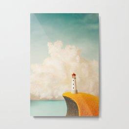 Little Lighthouse Metal Print