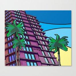 Miami マイアミ Canvas Print