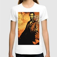lincoln T-shirts featuring Abraham Lincoln by Saundra Myles