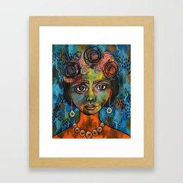 Valeria - Mexico Framed Art Print