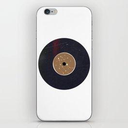 Vinyl Record Star Sign Art | Gemini iPhone Skin