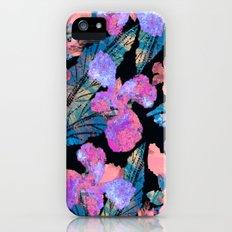 Night Blooms Slim Case iPhone (5, 5s)
