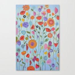 """""""Garden Whimsy"""" Canvas Print"""
