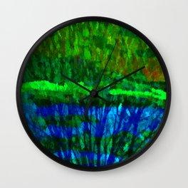 Nature Shift Wall Clock