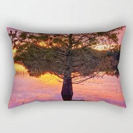 Blood Tree Rectangular Pillow