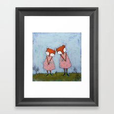 Best Sisters Framed Art Print