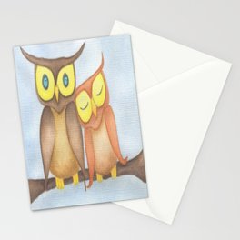 The Owl Lovers Stationery Cards