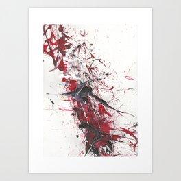 Cracking Backbone Art Print