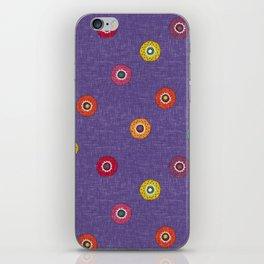 merkez violet iPhone Skin