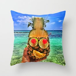 Sun Daze Throw Pillow