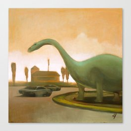 Dinosaur! Canvas Print