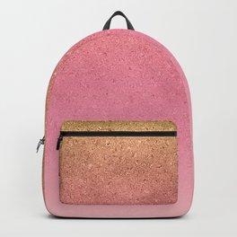 Rose Gold Nuggets Backpack