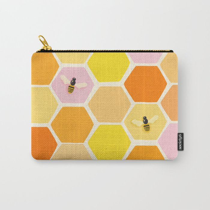 Busy As A Bee In A Hive Carry-All Pouch