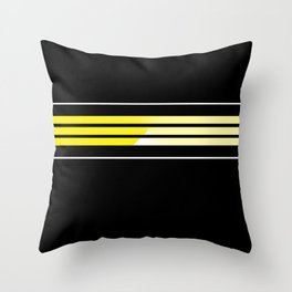 Team Colors 5 ...Yellow Throw Pillow