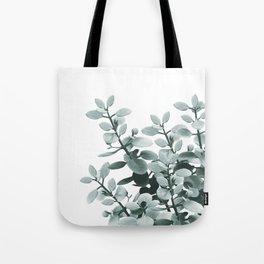 Eucalyptus Leaves Green Vibes #1 #foliage #decor #art #society6 Tote Bag