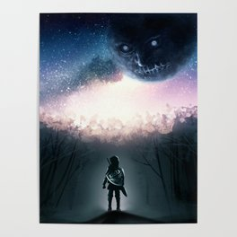 Zelda And The Black Moon Poster