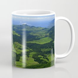 Green coastal landscape Coffee Mug