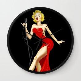 Marilyn Rabbit Wall Clock