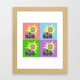 Let's warholize...and say cheese! Framed Art Print