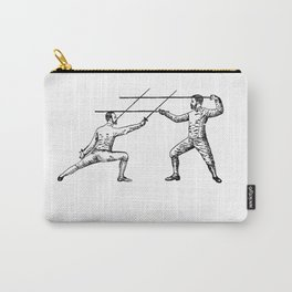 Dueling Hashtag Carry-All Pouch