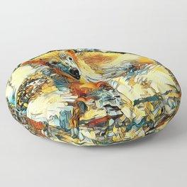 AnimalArt_Polarbear_20170701_by_JAMColorsSpecial Floor Pillow