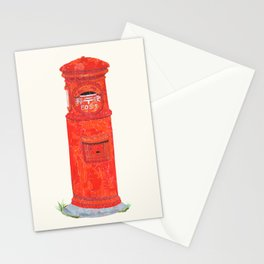 Red Mailbox Stationery Cards