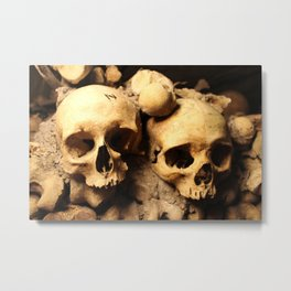 The Dead Metal Print