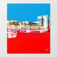 bauhaus Canvas Prints featuring Bauhaus · Das Bauhaus 1 by Marko Köppe