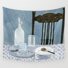 Still life with dried herbs Wall Tapestry