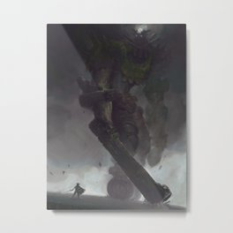 the Third Colossus Metal Print