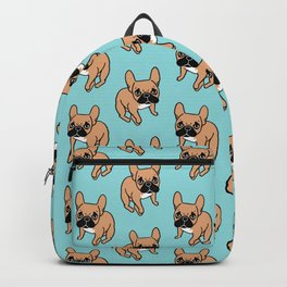 The Cute Black Mask Fawn French Bulldog Needs Some Attention Backpack