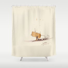 #coffeemonsters 470 Shower Curtain