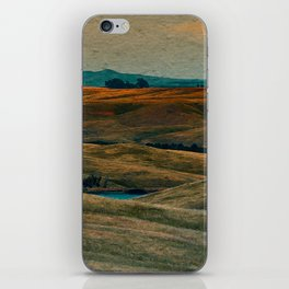 The Beauty of Nothing and Nowhere iPhone Skin