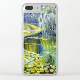 In the park Clear iPhone Case