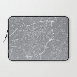 Athens Map, Georgia USA - Pewter Laptop Sleeve