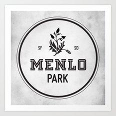 Menlo Park Art Print