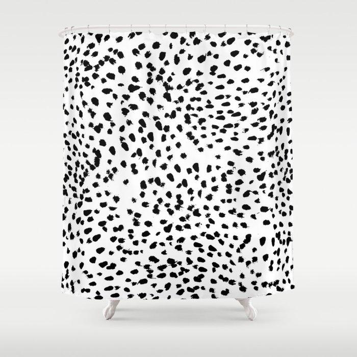 Black And White, Animal Print, Dalmatian Spot