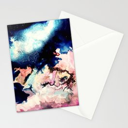 Marbled Galaxy Cells Stationery Cards
