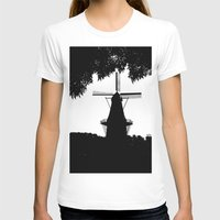 moulin rouge T-shirts featuring Moulin Noir by Klaudia