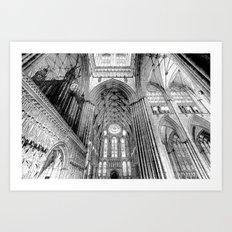 York Minster Art Sketch Art Print