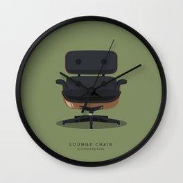 Lounge Chair - Charles & Ray Eames Wall Clock