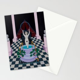 The Fear of Nothingness Stationery Cards