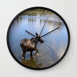 Range The Lake Wall Clock