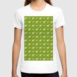 Llama 1- Green T-shirt