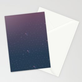 arabic tashkeel grediant Stationery Cards