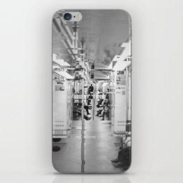 A glitch in the subway iPhone Skin