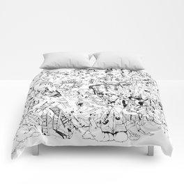 Fragments of dream Comforters