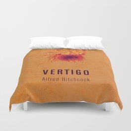 VERTIGO - Hitchcok Poster Duvet Cover