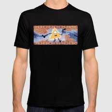 Bill Cipher Mens Fitted Tee Black SMALL