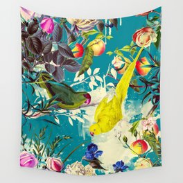 Tropical birds in the nature - 010 Wall Tapestry